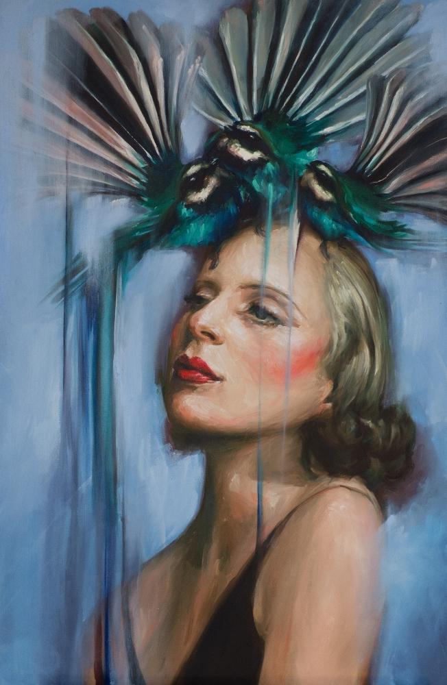 'Tamara', oil on canvas, 2018