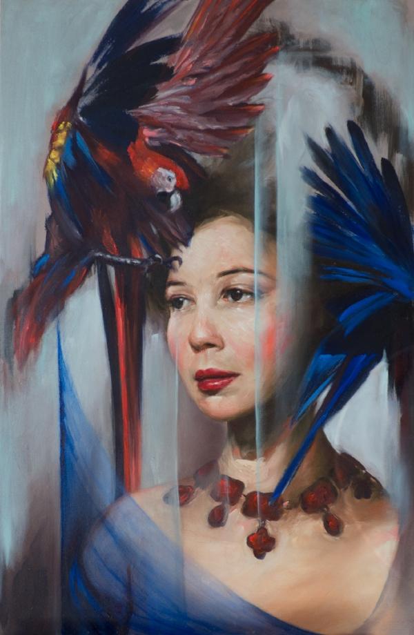 'Leonor' oil on canvas, 2018