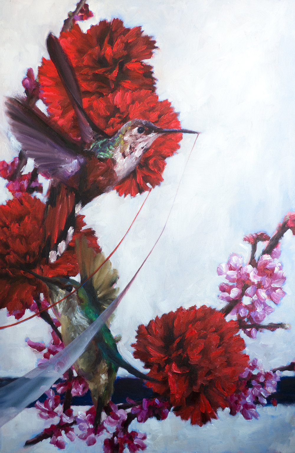 You Said No Winter Lasts Forever (Hummingbirds)