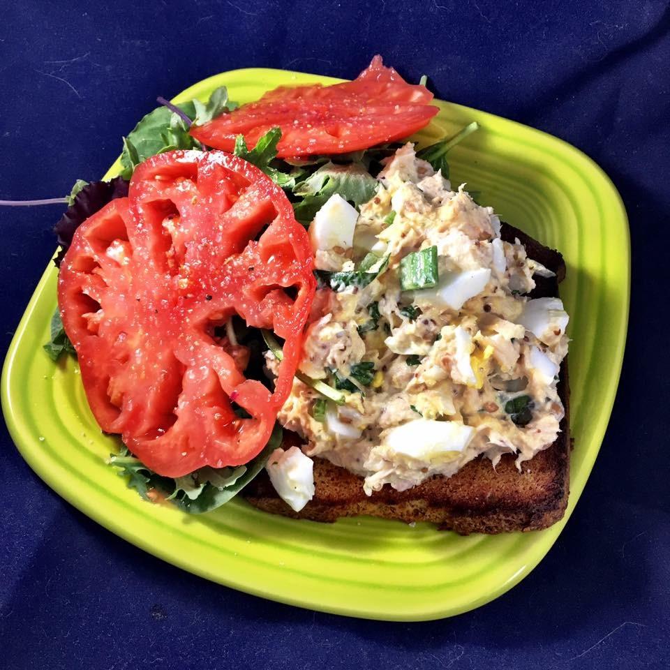 Fish and Egg Salad