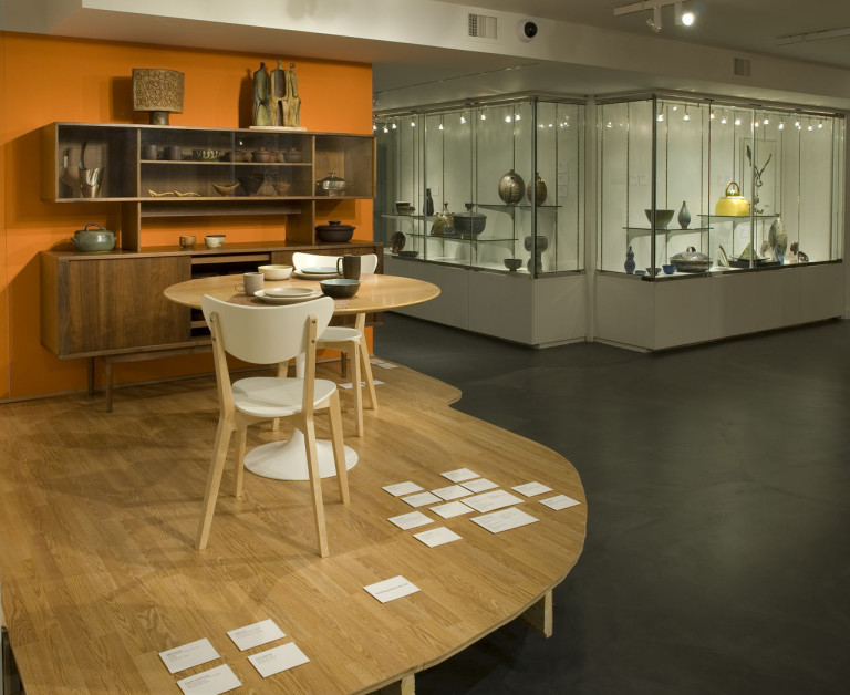 'The Living Room, installation view, 2007, at the Museum of Contemporary Craft (photo by Mark Stein; all photos courtesy the Museum of Contemporary Craft unless indicated otherwise)