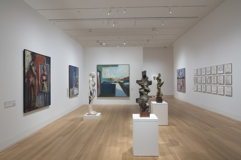 'The Ceramic Presence in Modern Art,' installation view