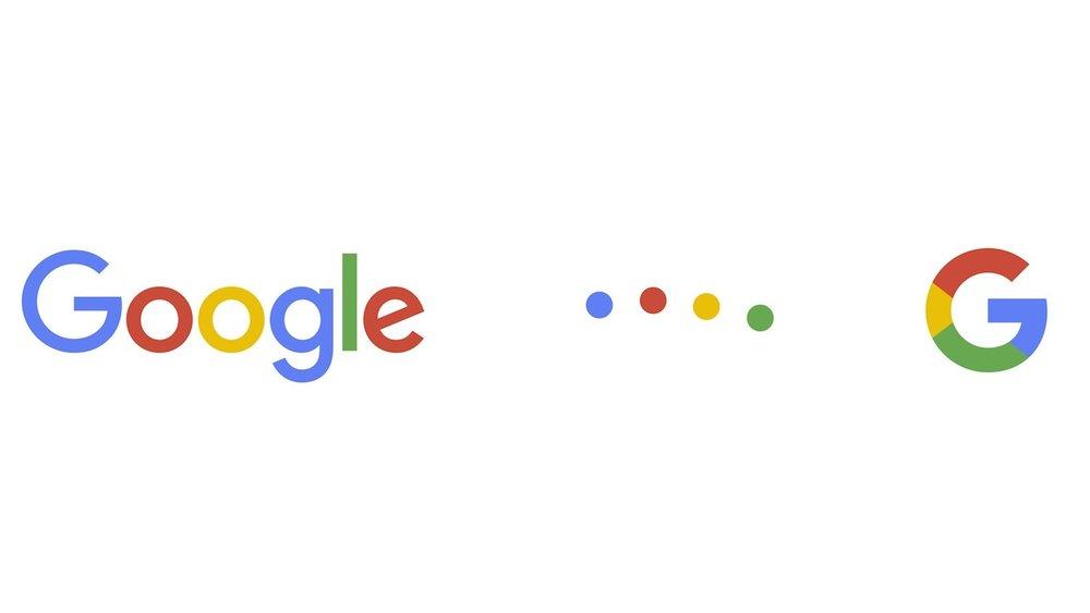 Google's new typeface (screenshot  via YouTube )