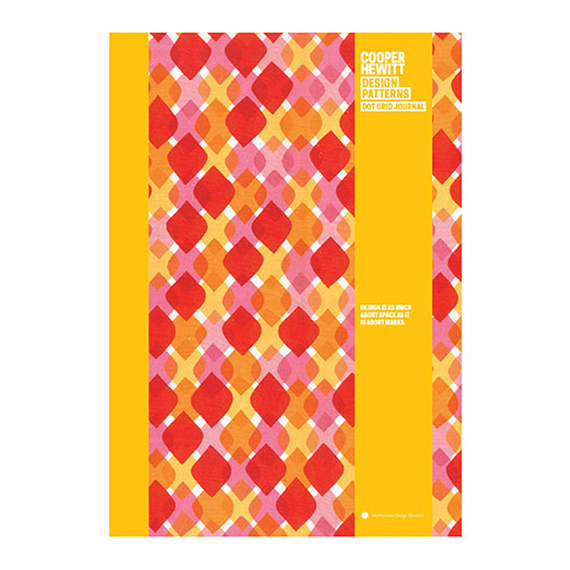 Diamond Designs Pattern Journal, Pattern by Alexander Girard, $13.99