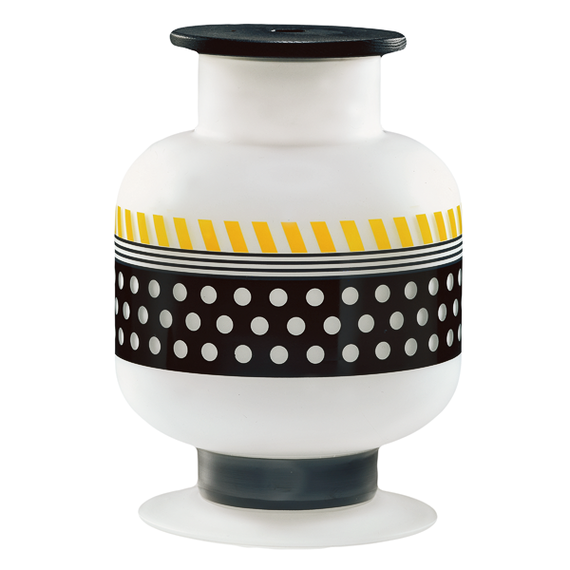 Bonnie Vase by Ettore Sottsass for Egizia, $440