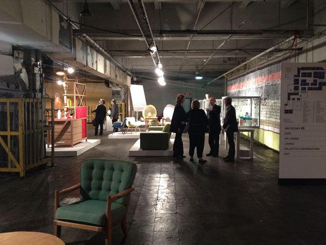 Installation view of the Hella Jongerius presentation