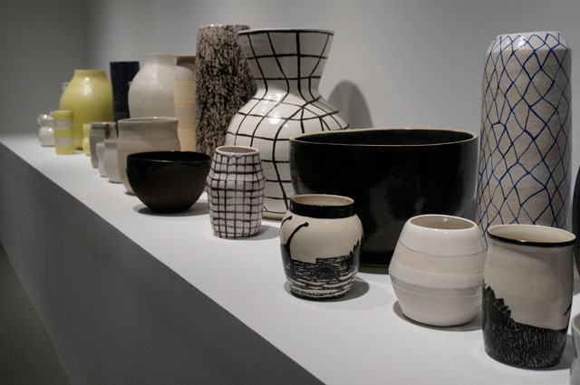 Ceramic work by Shio Kusaka at the Whitney Biennial (photo by Jillian Steinhauer)