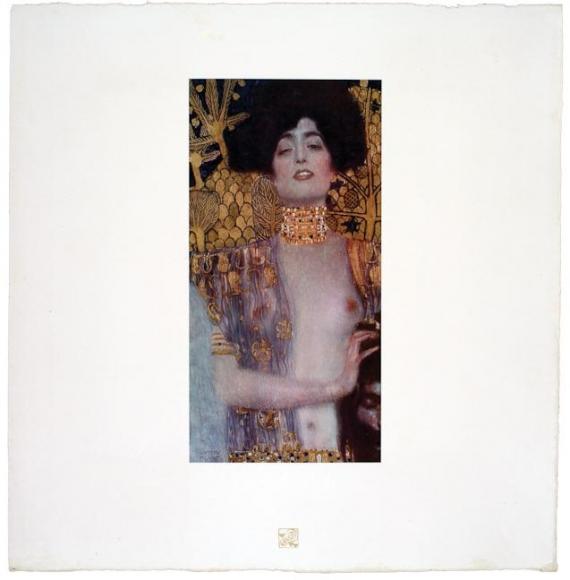 Judith I , Gustav Klimt, Collotype, ca. 1908-14