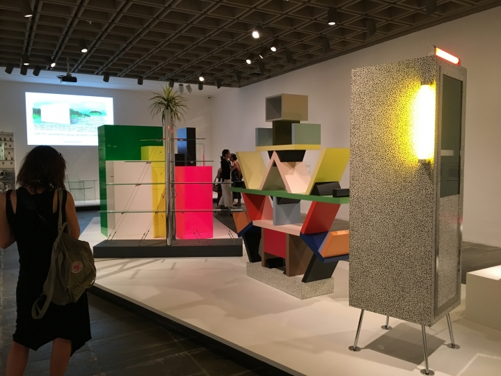 Ettore Sottsass: Design Radical , installation view (photo by the author for Hyperallergic)