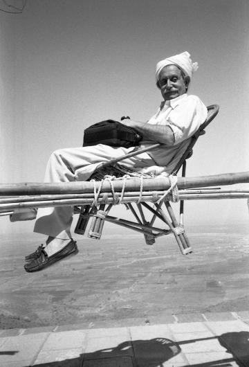 "Barbara Radice, ""Sottsass in India"" (1988) (courtesy of Barbara Radice)"