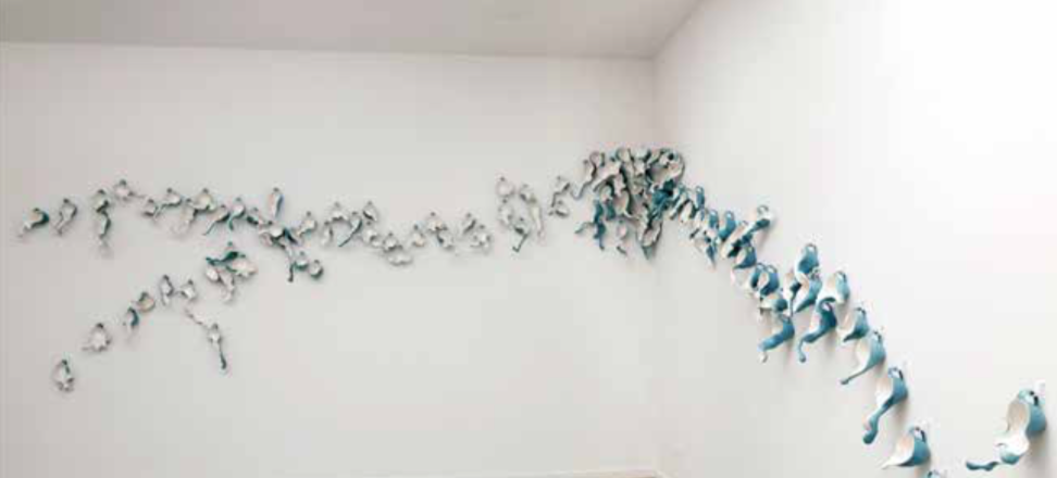 Tsehai Johnson's installation  Swarm