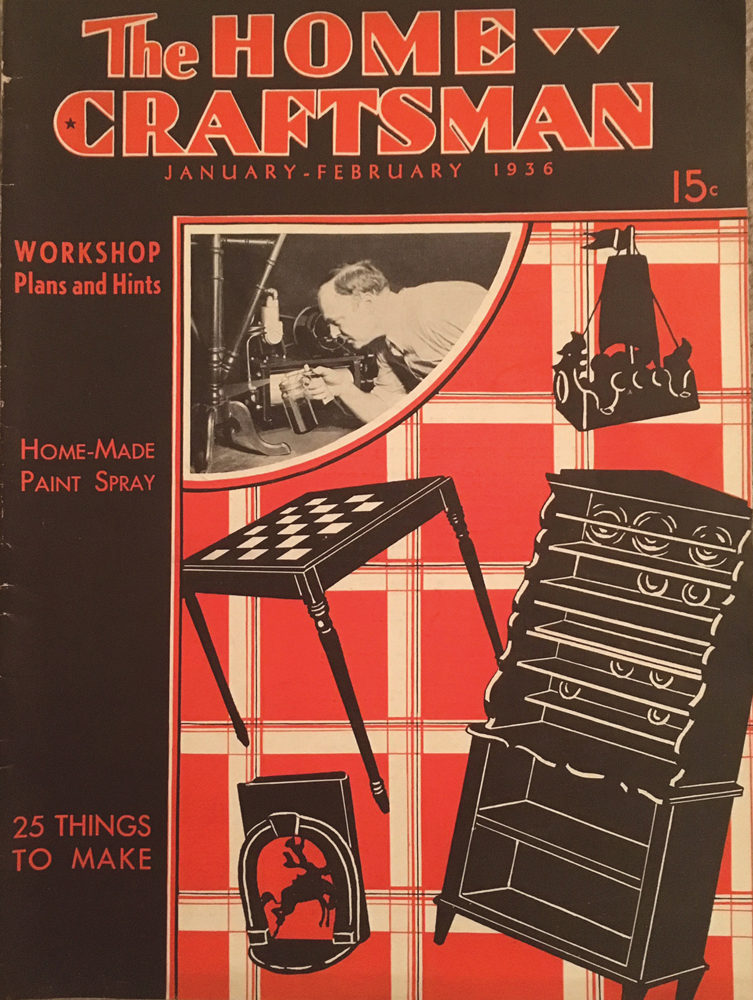 H.J. Hobbs ed., The Home Craftsman, January/February 1936, Volume 5