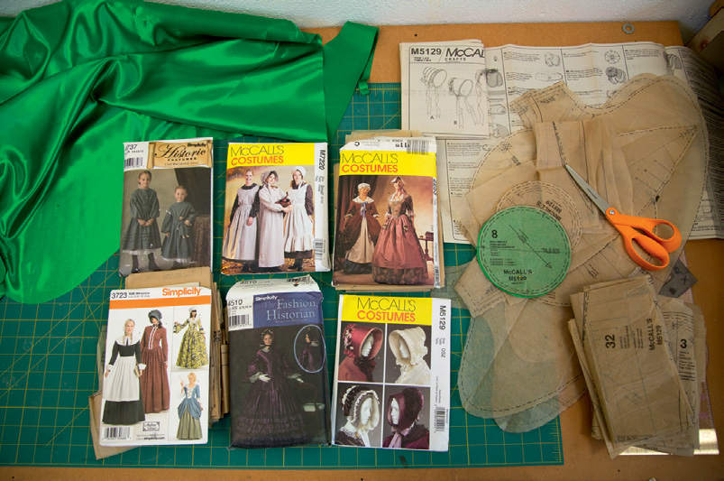 FIG. 5 –  Materials used for  The Visible Invisible  project