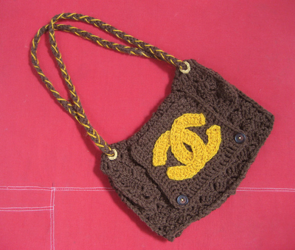 FIG. 15 – The Counterfeit Crochet Project (Critique of a Political Economy) , 2008