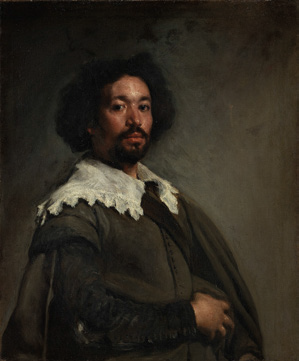Diego Velázquez ,  Portrait of Juan de Pareja , Oil on canvas, 81.3 cm × 69.9 cm (32.0 in × 27.5 in) Circa 1650