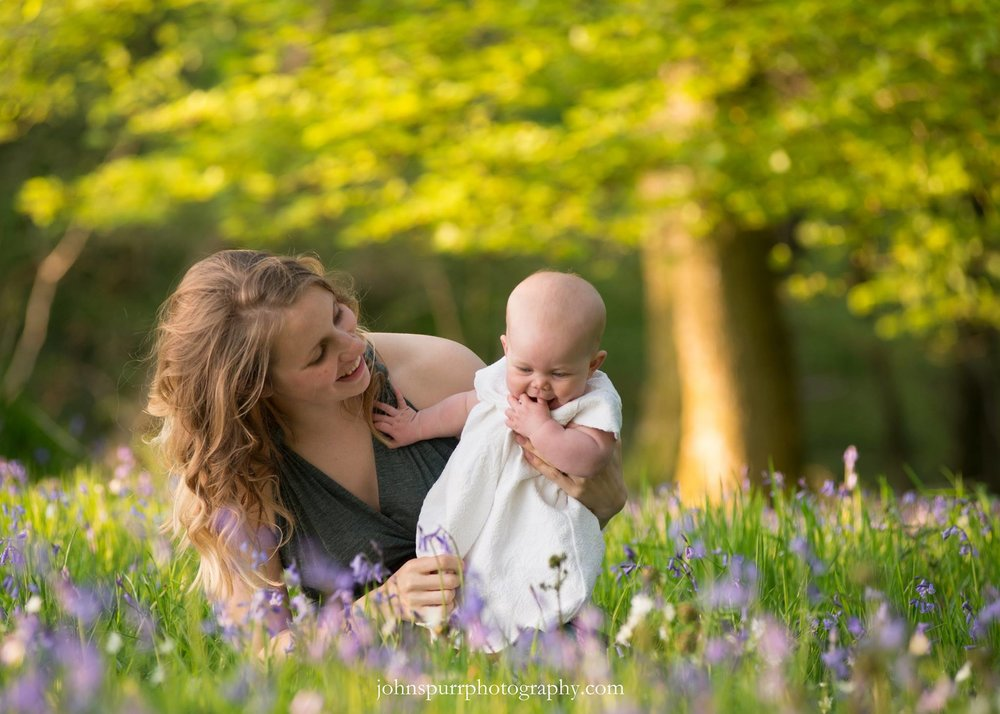 My very talented husband took this photo nearly a year ago. Hard to imagine Imogen this small, and very much looking forward to getting some more photos on her in the bluebells in a few weeks. If we can get her to stay still long enough of course!