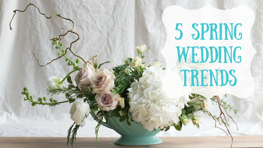 5springweddingtrends