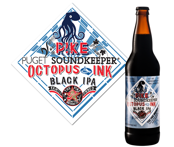 Octopus Ink Black IPA