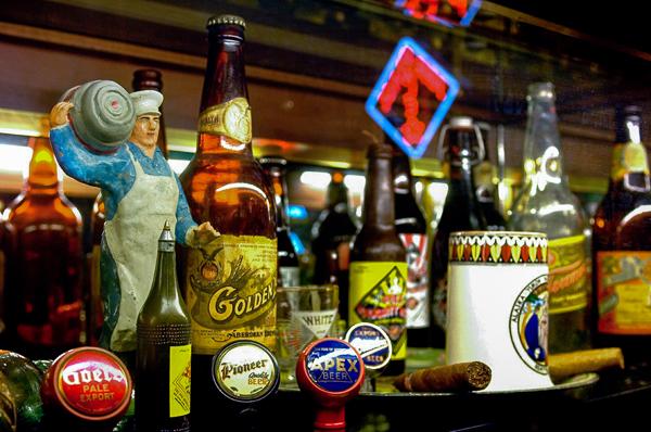 Beer artifacts