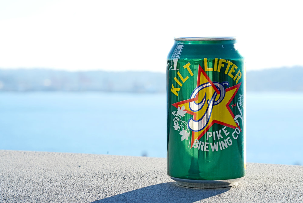 Pike Kilt Lifter by the water