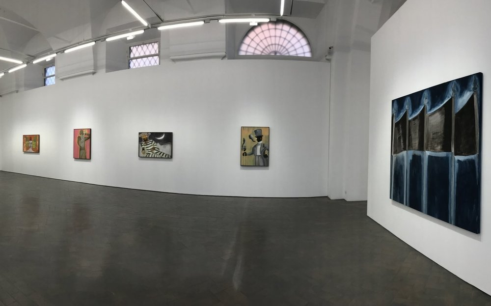 Exhibition of works by Francesco Clemente at Galleria Lorcan O'Neill