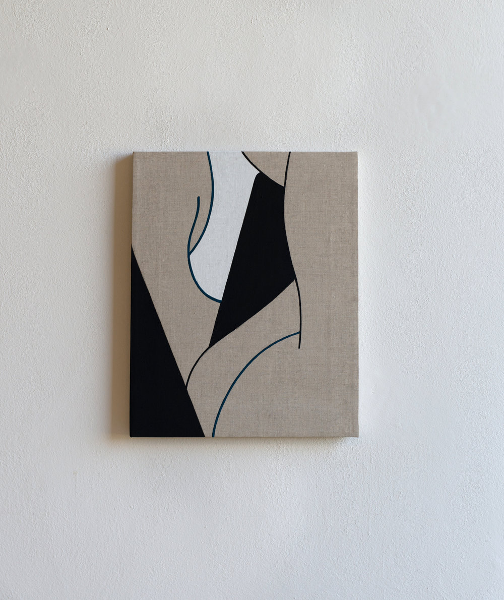 Max Renkel   Untitled , 2018 Acrylic on Linen
