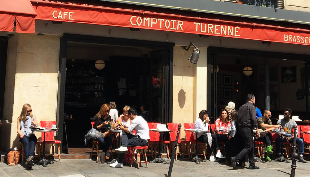 Comptoir Turrene in Marais.