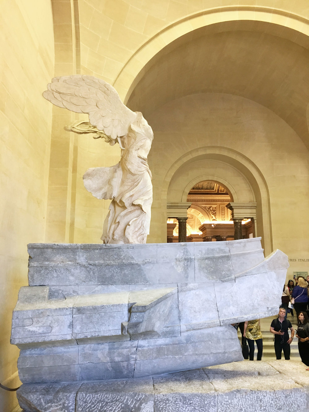 Winged Victory of Samothrace  (190 B.C.)