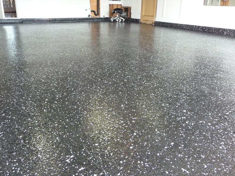 why chose epoxy for garage floor brilliance flooring