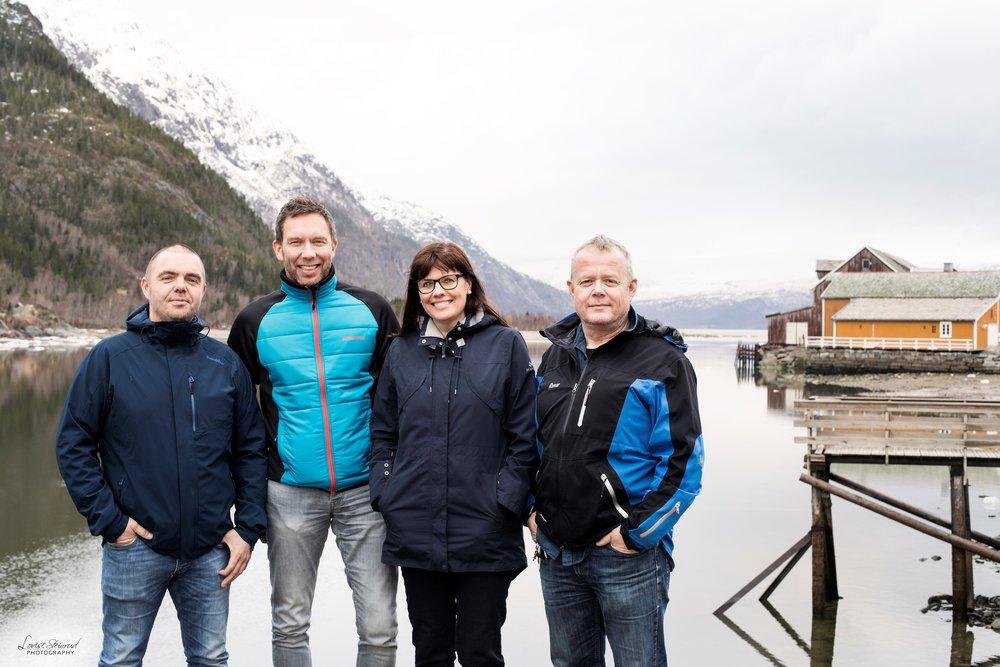 Arnulf Johansen Stenvik,Lars Henrik Kristiansen, Inger Teigen and   Runar Hestmark