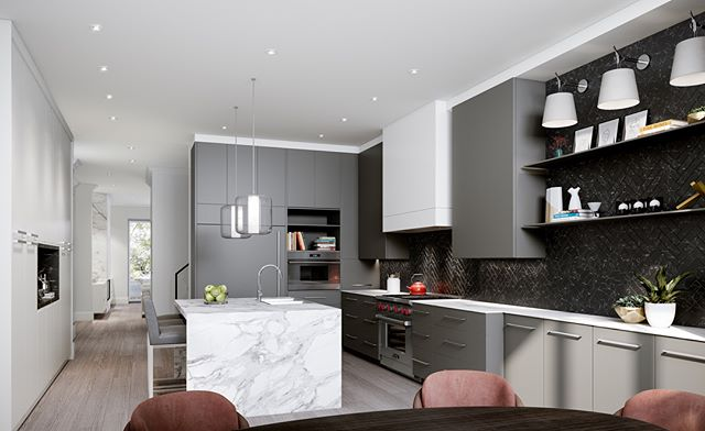 Did you know that The Chaplin is offering two different interior finishing packages? Whether you prefer modern or transitional style, we've got you covered.  Which of these incredible kitchens do you prefer? · · · · #sierracustomhomes #thechaplin #torontoarch #archilovers #urbto #luxurylifestyle #luxuryrealestate #luxuryhomes #toronto #freehold #townhomes #details #torontorealestate #realestatedevelopemnt #realestate #renderings #contemporary #modern #foresthill #foresthillrealestate #custom #customhomes #dreamhome #beltline #midtown #interiordesign #hometour #selltoday