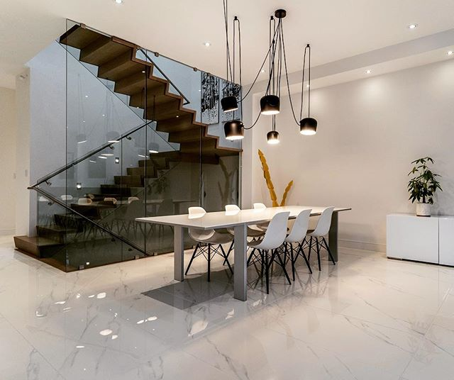 #tbt to this incredible house we finished for great clients a while back. To date this is still one of the coolest staircases we've had the honour of installing.  What do you think? · · · · #sierracustomhomes #torontoarch #archilovers #urbto #luxurylifestyle #luxuryrealestate #luxuryhomes #toronto #details #torontrealestate #realestate #contemporary #transitional #lyttonpark #custom #customhomes #dreamhome #realestate #timeless #tbt #torontorealtor #torontohomes #torontobuilders #gtarealestate #homebuyers #hometour #luxurybuilding