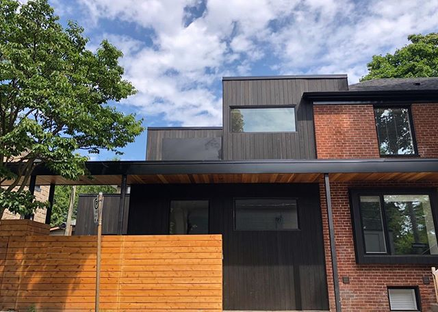 Visiting clients at a project we wrapped up last year. You might remember this Shou Sugi Ban siding from an earlier post when it was partially completed. We think the exterior of this home is stunning, we'd love to hear your thoughts! · · · · #sierracustomhomes #torontoarch #archilovers #urbto #luxurylifestyle #luxuryrealestate #luxuryhomes #toronto #details #torontrealestate #realestate #contemporary #transitional #custom #customhomes #dreamhome #realestate #timeless #torontorealtor #torontohomes #torontobuilders #gtarealestate #homebuyers #hometour #luxurybuilding
