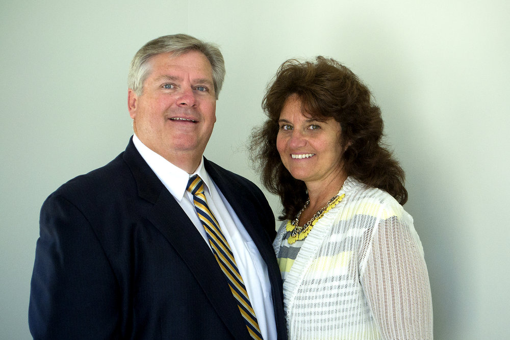 Pastor Richard Smith and his wife Sherri