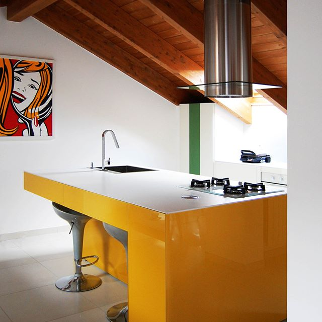 #architecturelovers  #autogramtags #architectureporn  #archilovers  #designs  #designing  #modern  #kichen  #dining  #mykitchentable  #colours  #colorful  #yellow  #homesweethome  #myhome  #sweethome  #decorations  #decorate  #homedecor  #colors  #undefined  #undefined  #italia  #italy🇮🇹 #32mq  #32mqDesignStudio #refurbishment  @32mqDesignStudio