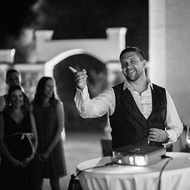 this groom had an awesome weddingday