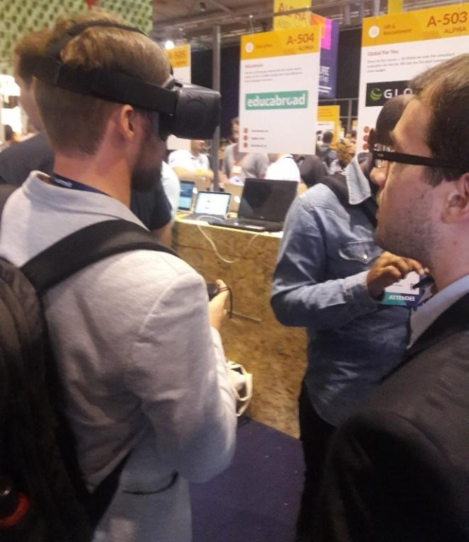Web Summit Virtual Reality