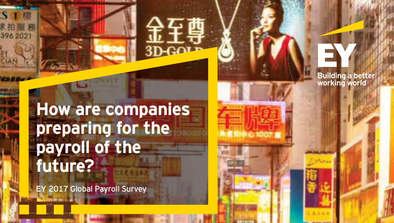 EY - How are companies preparing for the payroll of the future?   Global expansion, paired with digital and social disruption is also creating a challenge in the area of payroll. The need for compliance and standardization is at the rise.