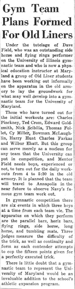 Diamondback Article 10/18/1946