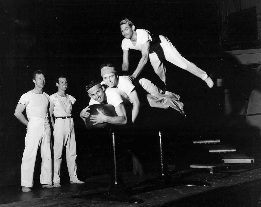 1947 'Tiger Leaping'