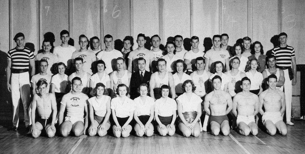 1949-1950 Gymkana Troupe.jpg