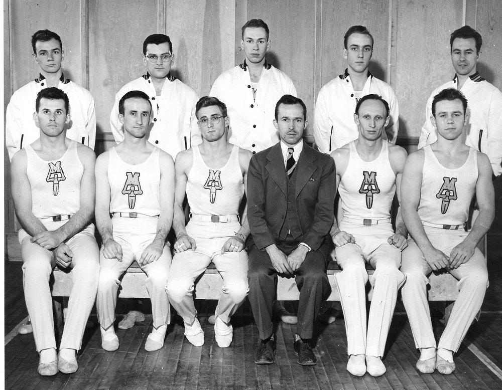 1949-1950 Gymnastics Team.jpg