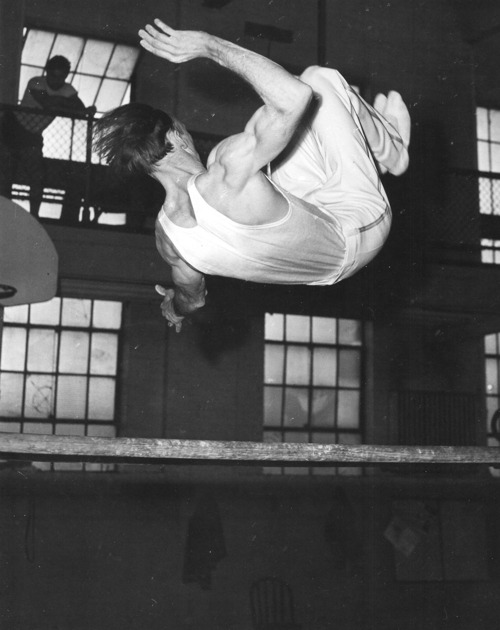 Joe Herring on Parallel Bars (1950)