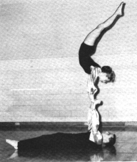 Mixed Doubles Balancing 1959