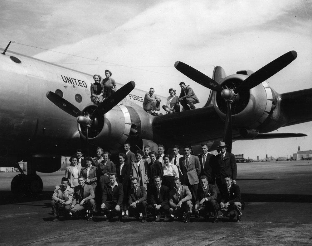 Idaho Military Show Tour 1952