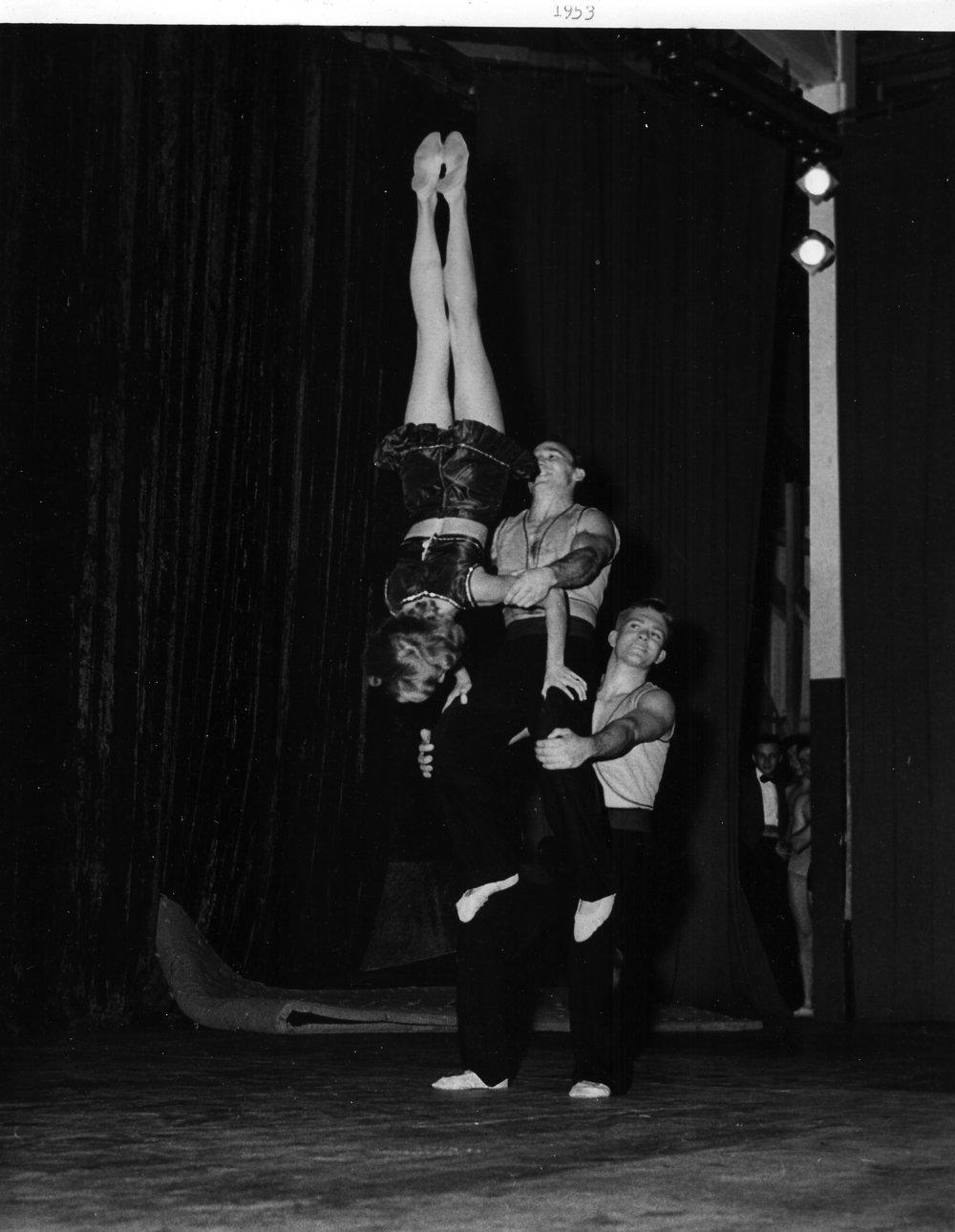 Mixed Triples Balancing 1953