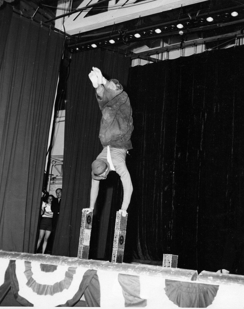1953 George Terrell Handstand