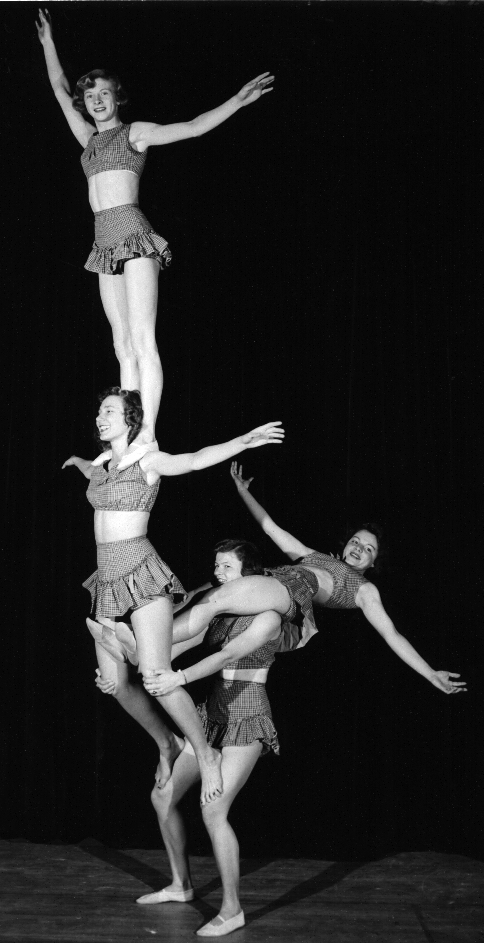 The Gymkanettes 1954