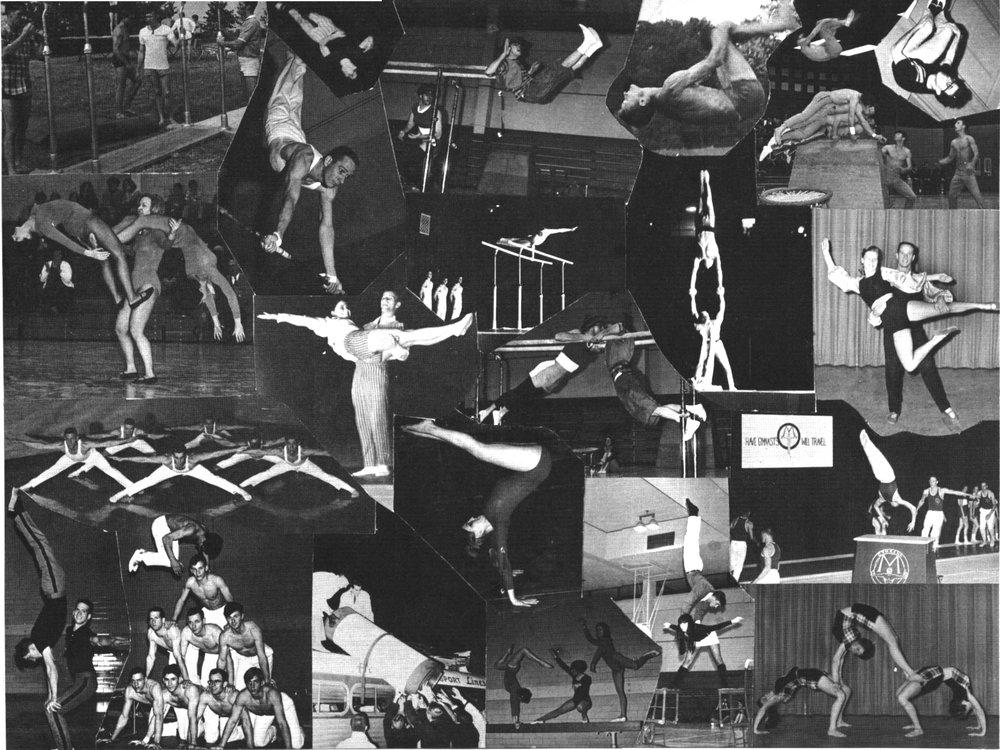 1971 Home Show Program collage