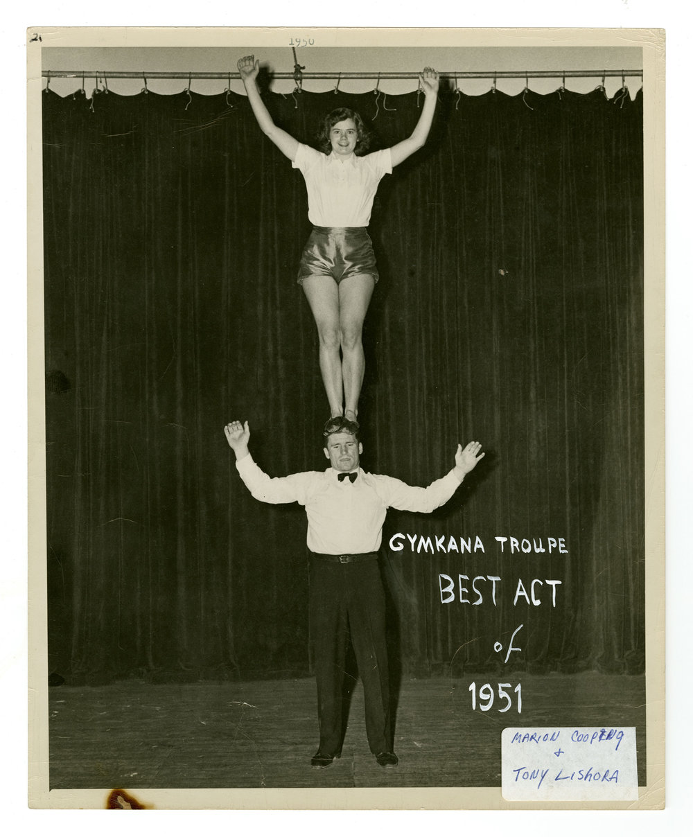 1951 - Anthony and Cleopatra (Mixed Doubles Balancing)
